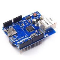2PCS LOT Ethernet Shield W5100 For Arduino UNO Mega 1280 2560 UNO R3 ATMEGA 328 Best