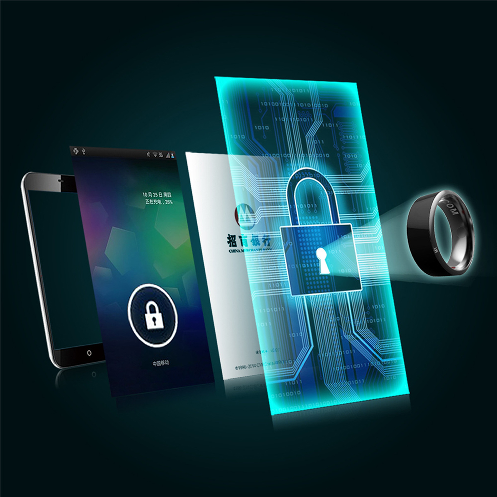 Anillo inteligente Jakcom R3 dispositivos dedo mágico NFC anillo ...