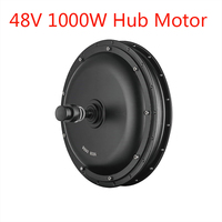 NEW 48V 1000W Brushless Direct Drive Hub Motor E bike Motor Front And Rear Wheel Drive Freehub Electric Bicycle Conversion Kit