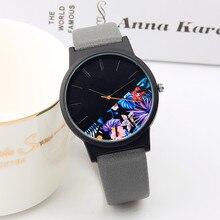 2019 New Fashion Simple Women Watch Art retro fashion ladies watch Leather watch Lady Dress Watch Female Horloge Montre Femme