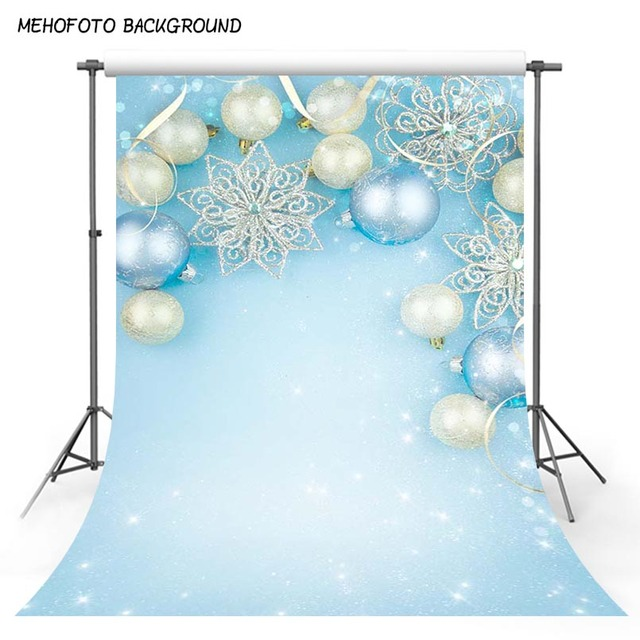 photo background light solid blue glitter christmas balls for children  birthday party photography backdrops prince baby shower d031f5025