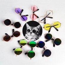 1 unids Venta caliente perro gafas de productos para mascotas ojo-ropa para mascotas perro gafas de sol fotos Accesorios suministros para mascotas gafas