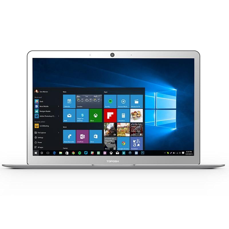 TOPOSH laptop (P1) 14 inch Magal laptop Wifi con Ranura SATA SSD M.2 Processor N3450 6G DDR3 64G ultralight notebook