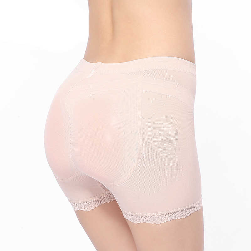 e8660c55f85 ... Silicone padded panties seamless underwear butt pads underwear women  bodies woman sexy butt lifting panty women s ...