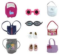 10 UNIDS Moda Nuevo Estilo Lindo Accesorio para 18 Pulgadas American Girl Regalos para Los Niños