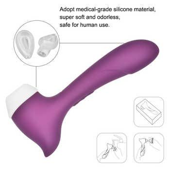 Powerful Vibrator Clitoris Waterproof G Spot Nipple Clitoris Stimulator Clitoris Suction Clitoris Sucker Woman Sex Shop