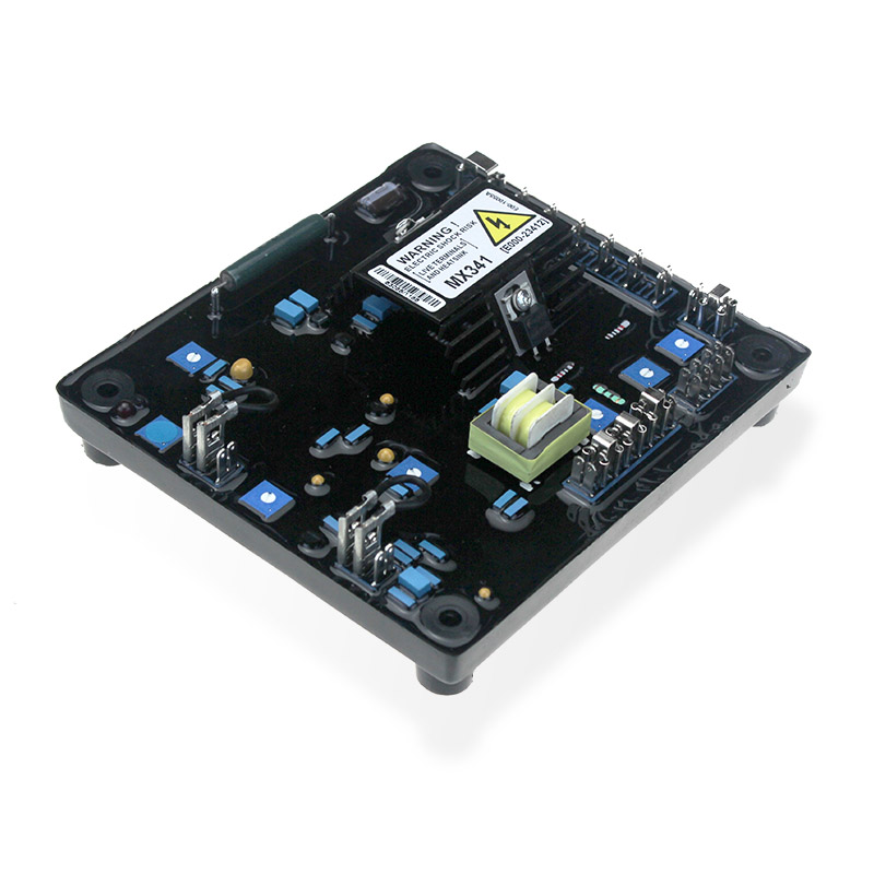 Automatic Voltage Regulator AVR MX341 generator spare parts avr MX341 Blue capacitors alternator 5PCS avr 110v automatic voltage regulator fit