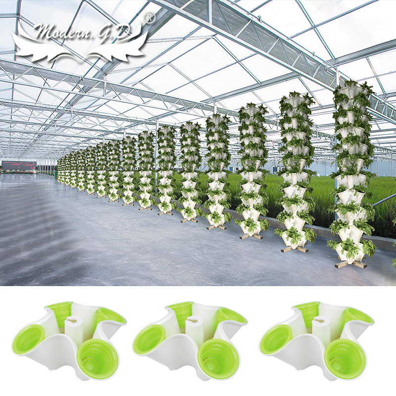 Modern Greenhouse New Vertical Tower Hydroponic Planter System