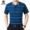 NEW POLO 2017 Striped Men's polo shirts Summer shorts half polo for men clothing slim fit collar casual XXXL camisa homme M-3XL