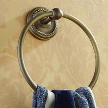 Новый ванная комната античная бронзовая латунь полотенце для полотенец держатель для полотенца бар