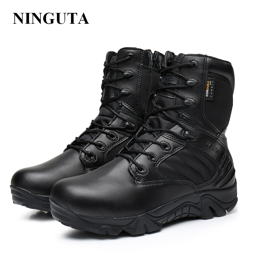 professional brand army boot tactical boots high