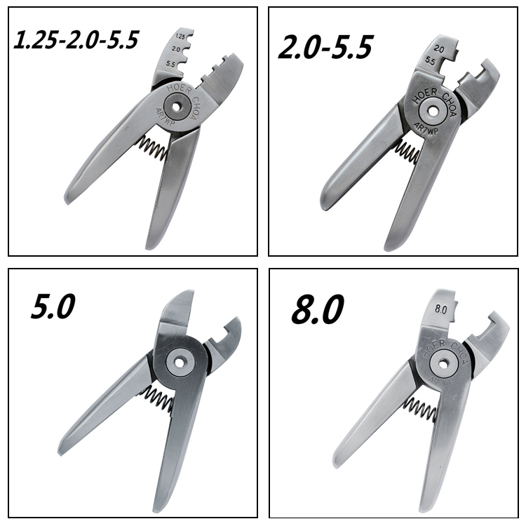 Pneumatic crimping pliers pneumatic crimping pliers pneumatic cold pressed terminal clamp head line nipple spare replacement