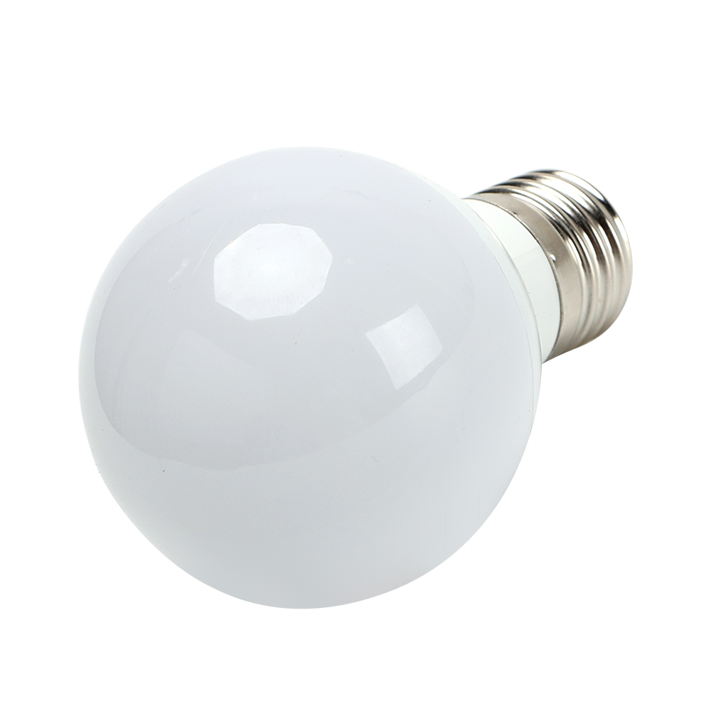 E27 G60 LED Bulb Energy Saving 3W Intelligent Lamps White Emergency ...