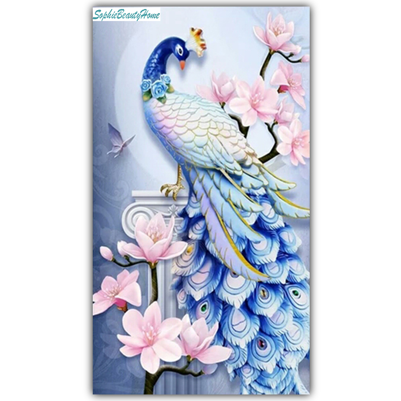 5d Diy Diamond Painting Cross Stitch Embroidery Handcraft Work Mosaic Wall Sticker Home Decoration Kits 2019 Official mermaid