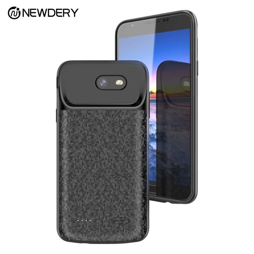 best service 82a0b 3643b US $25.47 9% OFF|NEWDERY power bank battery case for Samsung J7 Prime  4000mAh backup charger phone case for Samsung galaxy J7 2017 J7V Sky Pro  -in ...
