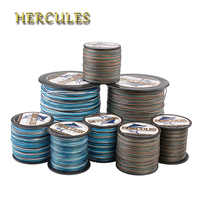 Hercules Fishing Line 8 Strands Pesca Multifilament 10-300LB PE Braided Line 100M 300M 500M 1000M 1500M 2000M Carp Fishing Cord