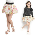 Factory outlets Fashion Fluffy Chiffon tutu Baby Girls Skirts Princess skirt dance wear Party clothes Free Shipping