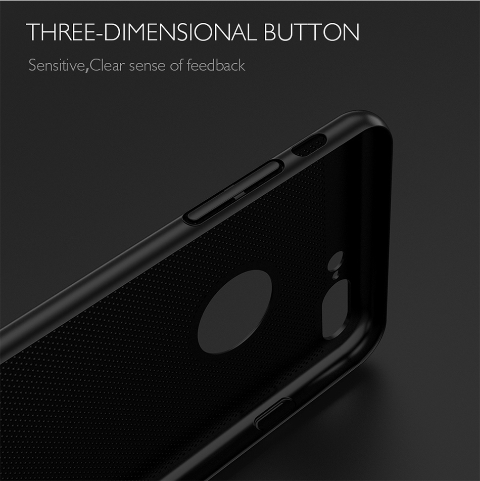 HTB11evfb5qAXuNjy1Xdq6yYcVXaq - Ultra Slim Phone Case For iPhone 6 6s 7 8 Plus Hollow Heat Dissipation Cases Hard PC For iPhone 5 5S SE Back Cover Coque X S MAX