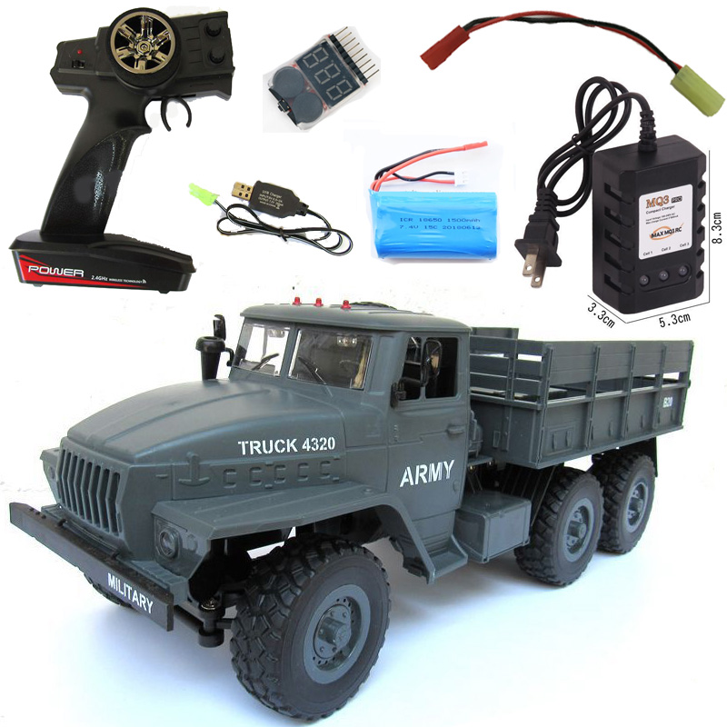 Rb 116 Ural 6x6 Radio Controlled Cars Off Road Rc Car Parts 6wd