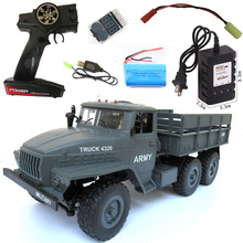 RB 1:16 Ural 6X6 Radio Controlled Cars Off Road RC Car Parts 6WD simulation RC Crawler Mil