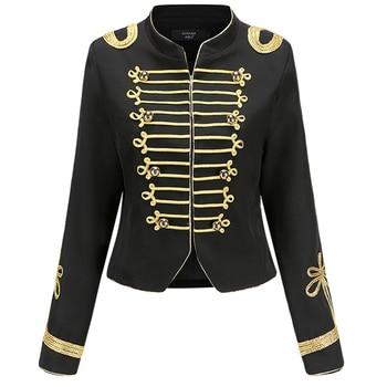 Vintage Retro Short Blazer Women Empire Clothes European Design Runway Luxury Brand Designer 2020 Autumn Winter Lady Jacket Coat