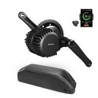 Bafang BBSHD комплект Электрический мотор для велосипеда Mid Drive Kit с литиевой Батарея 48 V/52 V 13AH/16AH/17.5AH (DP C18 цветной экран)