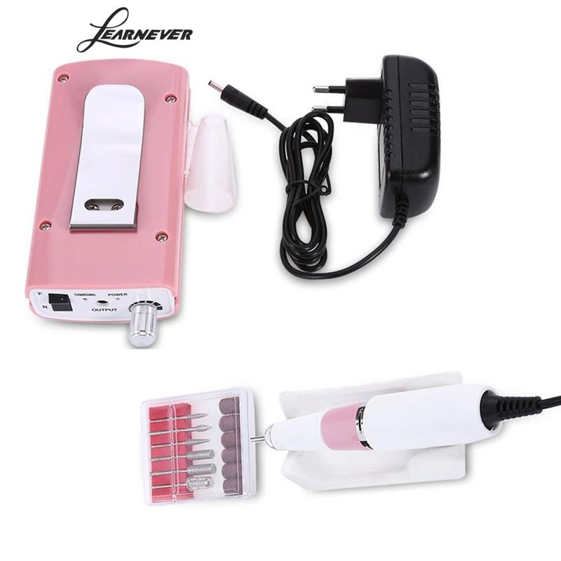 1 Pcs Nail Polishing Machine Manicure Nails Electric Machine Nail Manicure Pedicure Rechargeable Kit Nail Art Equipment stylish 24 pcs smile expression pattern nail art false nails page 1