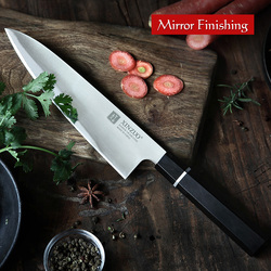 XINZUO 210mm Chef Knife High Carbon SANDVIK 14C28N Kitchen Knives Brand High Quality Cleaver Meat Knife Kitchen Cooking Tools
