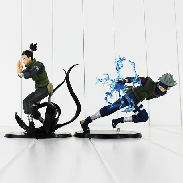2 Styles Anime Naruto:  Nara Shikamaru – Hatake Kakashi