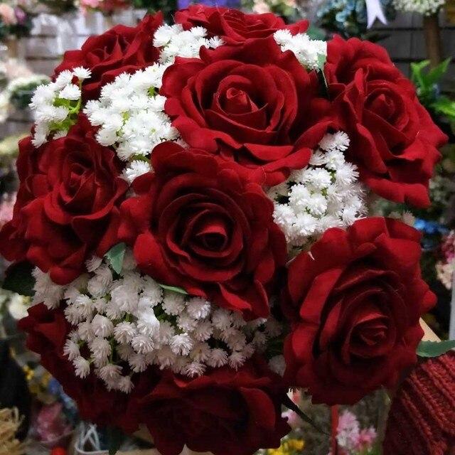 Красивые свадебные букеты фото — 15