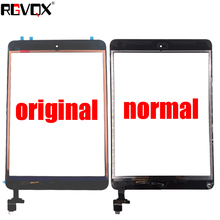 купить For iPad Mini 1 Mini 2 A1432 A1454 A1455 A1489 A1490 A149 Touch Screen TP IC with Home Button Adhesive