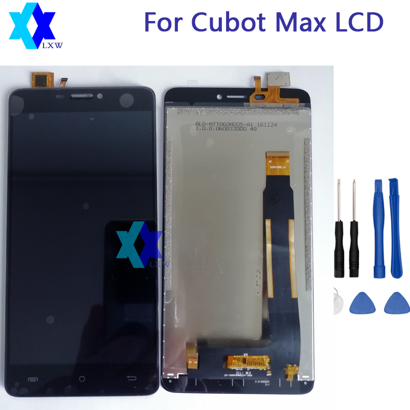 For 6.0 inch Cubot Max LCD Display+Touch Screen 100% Tested Screen Digitizer +Tools