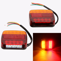 ITimo Car Brake Tail Lamps Car Styling Tailights 1 Pair 12V Auto Rear Lights Car Accessories