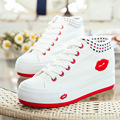 In the autumn of 2015 Korean fashionista canvas shoes increased in tie shoes casual shoes lady help students explosion