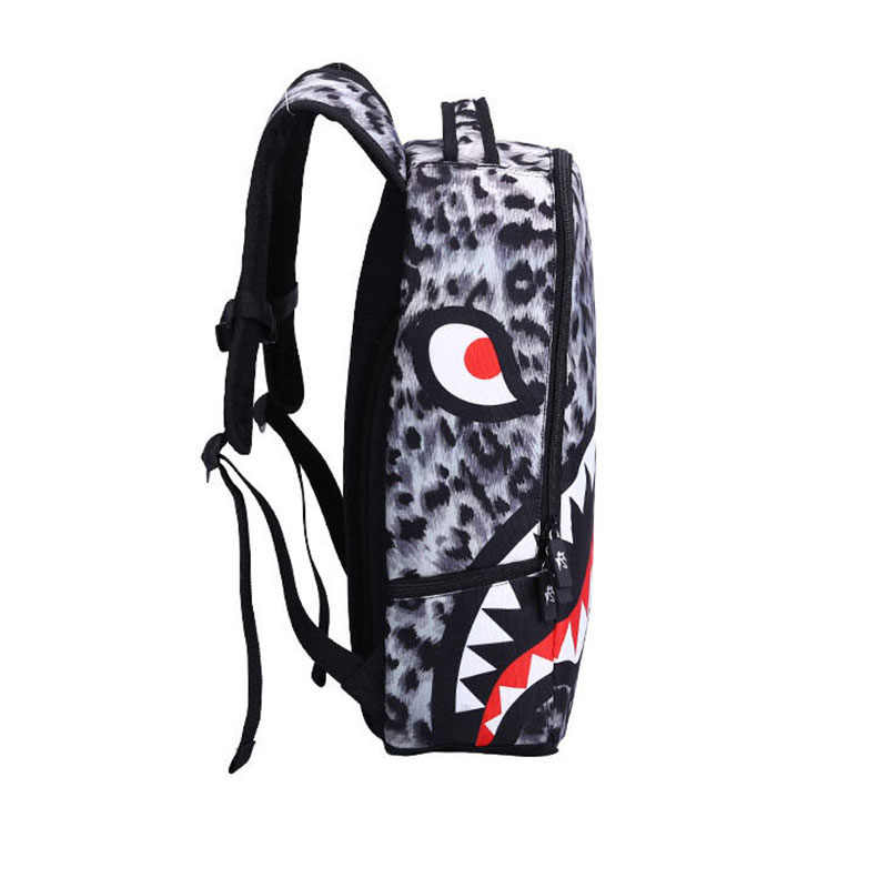 Primary School Bags Cool Leopard Shark Backpack