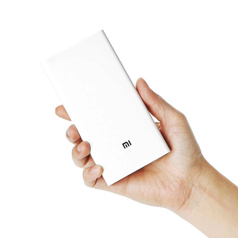 Xiaomi Power Bank 2C 20000mAh Upgrade with Dual USB Output Powerbanks Supports Two Way Quick Charge for XiaoMiXiaomi Power Bank 2C 20000mAh Upgrade with Dual USB Output Powerbanks Supports Two Way Quick Charge for XiaoMi