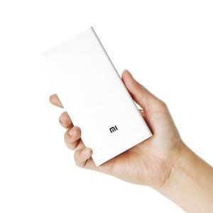 Xiaomi power Bank 2мАч 20000 обновление с двойным USB выходным блоком питания поддерживает два способа быстрой зарядки для XiaoMi