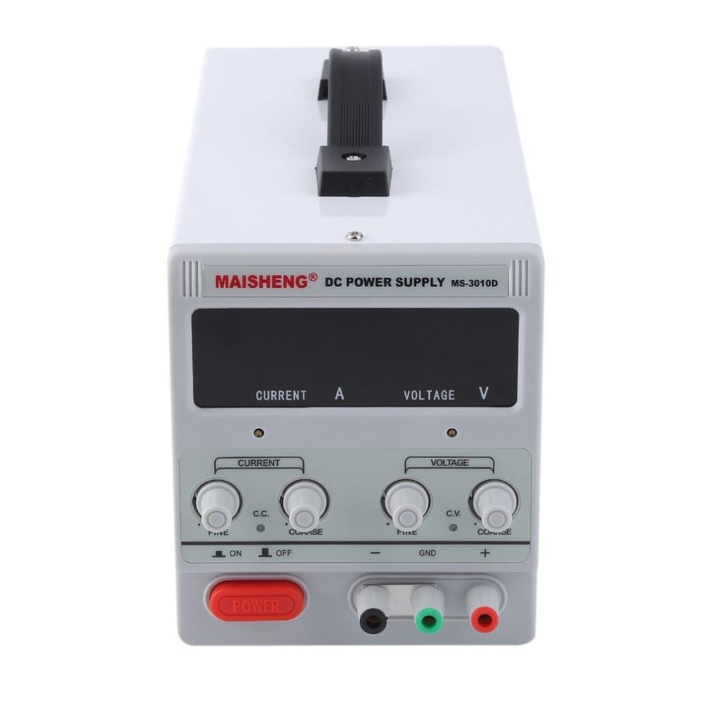 Test De Réparation Centre Double Affichage Numérique 30 v 10A Lab Année DC Alimentation Haute Précision Variable Réglable Pour Usine