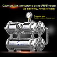 מחיר מפעל באיכות גבוהה 500L EIREE מכונות מסנן מים עם מטהר מים uf