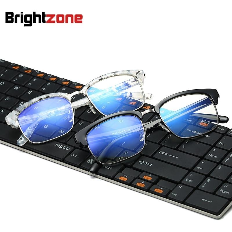 2017 New ArrivalAnti-blue Lays Blue Light Filter TR90 Plain Brýle Clear Plano Počítačové brýle Brýle Muži gafas oculos de grau