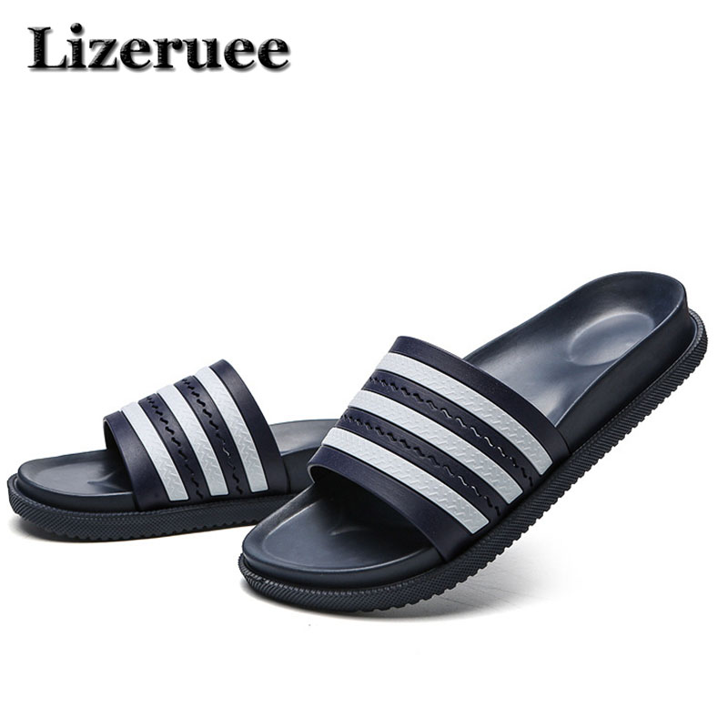 2018 New Summer Bathroom Slippers Women Men Unisex Non-slip Indoor Home Slipper Outdoor Flip Flops Superstar Slides Q95