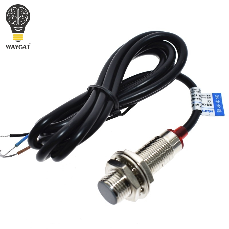 NJK-5002C Hall Effect Sensor Proximity Switch NPN 3-Wires Normally Open Magne