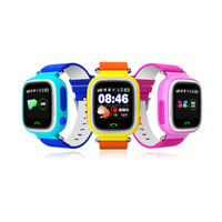 Watch Baby Q90 GPS Phone Positioning Fashion Children Watch 1 22 Inch Color Touch Screen WIFI