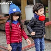 2016 new winter children children's clothing wholesale cotton coat boy girl children thin coat
