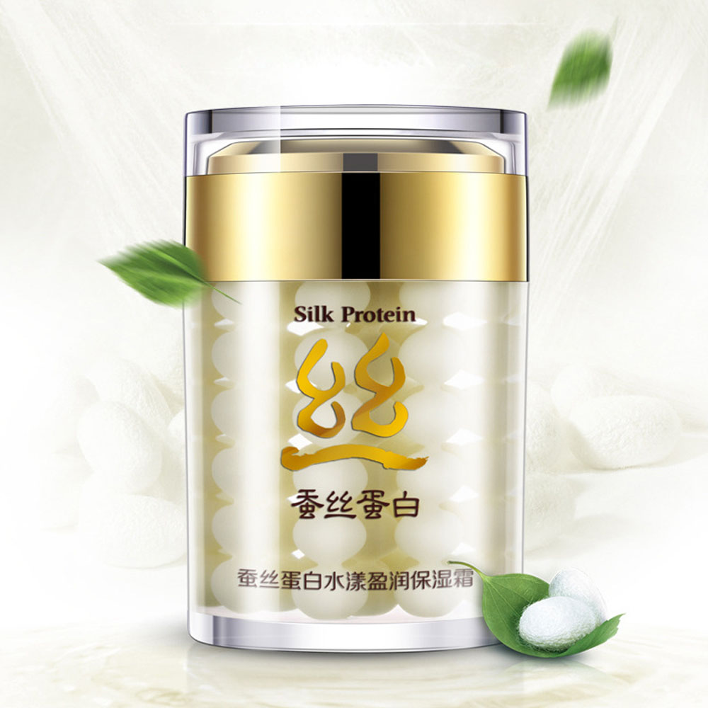 BIOAQUA New 1Pc Silk Collagen Protein Moisturizer Face Cream Anti Wrinkle Whitening Creams Professional Facial Skin Care JX104