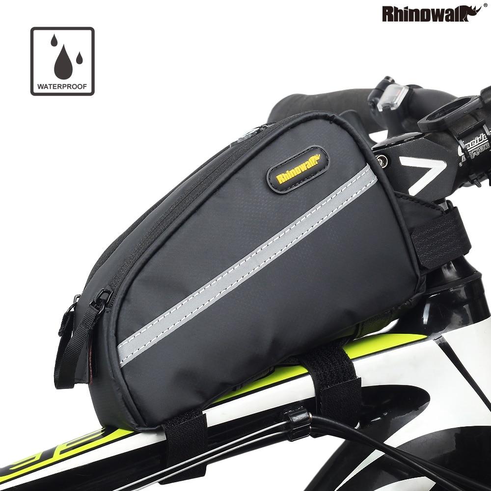Rhinowalk Bicycle Waterproof Top Tube Bag Mountain Bike Stem Pannier Cycling Road Bike Gear Bag Pack Bicicleta Triathlon Bag