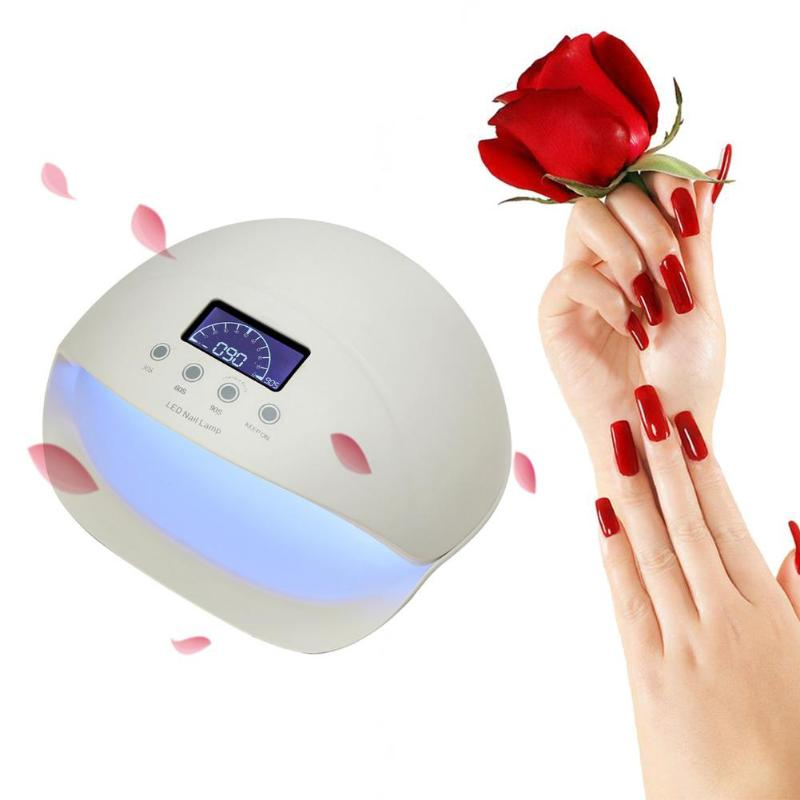 Random Color 50W UV LED Nail Lamp Dryer 28 LEDs Electric Nail Lamps for Gel Polish Dryer Intelligent Time Setting Nail Dryer nail dryer