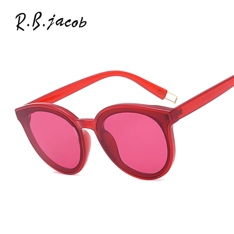 2017 New Cat Eye Sunglasses Women Mirror Brand Designer Sun glasses Lady Eyewear Good Quality Female Clear Frame Cateye Korea