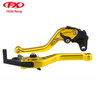 FX Aluminum Adjustable Motorcycles Brake Clutch Lever For APRILIA RS125 RS 125 2006 2010 2007 2008