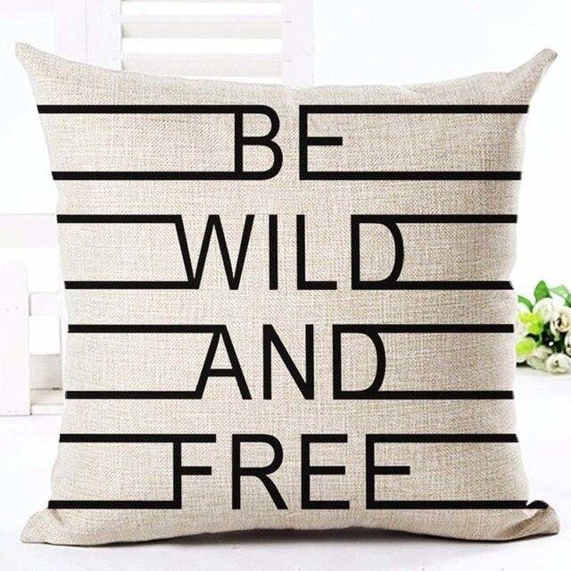 Home Linen Pillowcase Size: 45cm WT0057 Color: 21